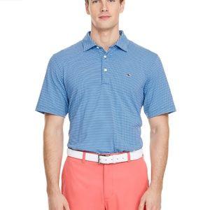 Vineyard Vines Lag stripe performance polo shirt